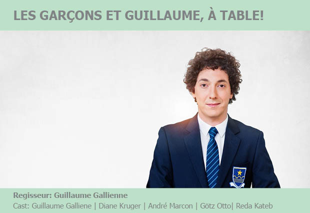 Les garcons et guillaume table de protagonisten - Guillaume les garcons a table streaming ...